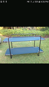 Oztrail bunk bed for camping Shellharbour Shellharbour Area Preview