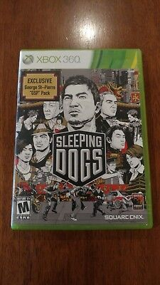 Sleeping Dogs (Microsoft Xbox 360, 2012) VERY GOOD, NO SCRATCHES! MAIL TOMORROW!