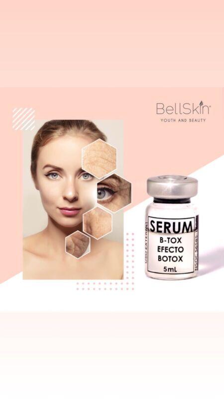 BELLSKIN SERUM B TOX WRINKLE FILLER MESOTHERAPY PEPTIDE IMPROVES BOTULINUM TOXIN