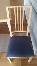8 wooden chairs - FREE matching dining table Westmead Parramatta Area Preview