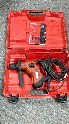Hilti Te7 Sds Concrete Rotary Hammer Drill With Case- Tested By Hilti Center