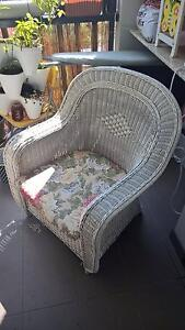 Stunning Vintage Cane Armchair With Cushion Indooroopilly Brisbane South West Preview