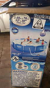 12ft above ground pool with extras NEED GONE Burringbar Tweed Heads Area Preview