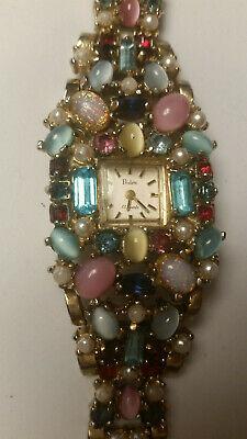 Multi Gemstone Ladies Watch Multi Gemstone Watch