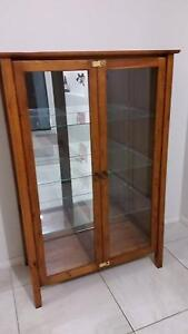 Wooden display cabinet Muswellbrook Muswellbrook Area Preview