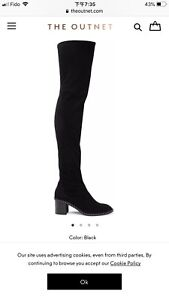 New Rag bone Rina suede over the knee boots