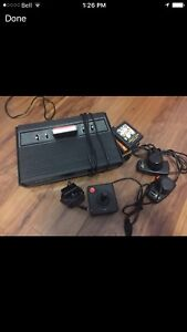 ATARI VIDEO GAME SYSTEM  works excellent old retro