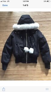 Moose knuckle jacket size small men or woman's large