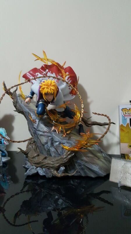 Naruto resin statue SXG Minato