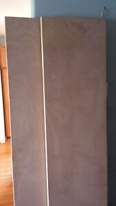 4 New 18 Inch Mahogany Hollow Core Slab Doors.