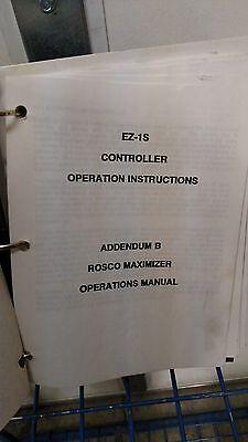 Rosco Maximizer Hydrostatic Distributor Operation Manual 17969