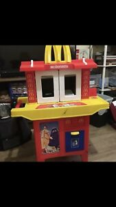 Retro 1990s Mc Donald's Play Kitchen With Foods