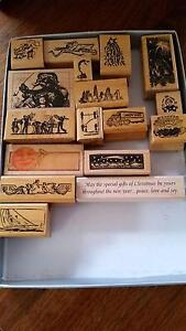 Rubber stamps for craft set 2 Mitcham Whitehorse Area Preview