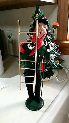 Byers Choice Caroler Lamp Lighter Man with Ladder and Torch