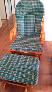 Rocking chair with foot stool Emu Heights Penrith Area Preview
