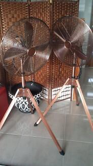 Homemaker tripod copper fans