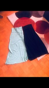 Two maxi skirts $10 each