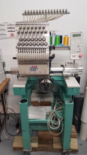 TAJIMA 1 HEAD - 15 NEEDLE / 15 COLOR / EMBROIDERY MACHINE / USED