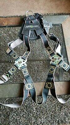 Honeywell Miller Rkn-qcxxlxxxlubk Revolution Full Body Harness 400 Lb Black