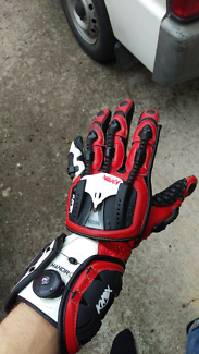 Knox Handroid Racing Gloves