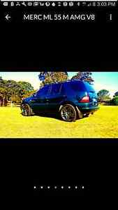 Mercedes-Benz ml55 AMG V8  for swap/sell Katoomba Blue Mountains Preview