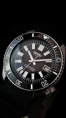 Vintage SEIKO Scuba Diver Watch CUSTOM 7002 - 6217 62Mas Mod Ceramic Bezel