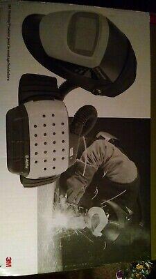 Speedglas 9000 Series With Adflo Weld Helmet Black And Silver