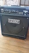 Fender Rumble bass amplifier.  75watt combo wedge. Mullumbimby Byron Area Preview