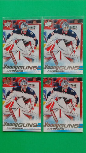 Lot Of 4 Ud 2019-20 Young Guns Yg Rookie Rc Updates Upick