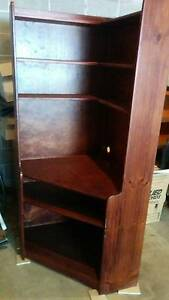 Corner bookcase/TV Cabinet Naremburn Willoughby Area Preview