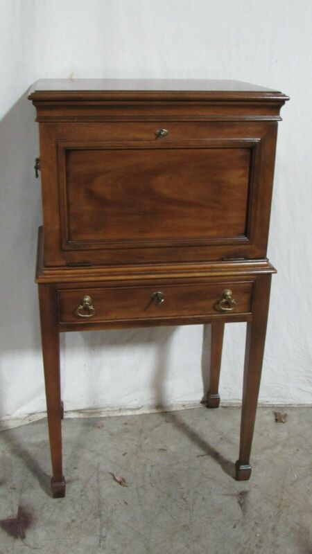 Statton Silver Chest Cabinet Solid Cherry