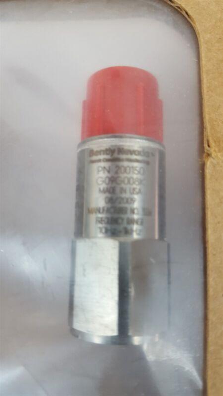 Bently Nevada 200150 Vibration Sensor Accelerometer 10Hz-1kHz - New