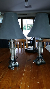 Pair bedside / table lamps. Alexander Heights Wanneroo Area Preview