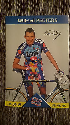 AK m.Druck.AG Wilfried Peeters Team Mapei 1997 Rarität