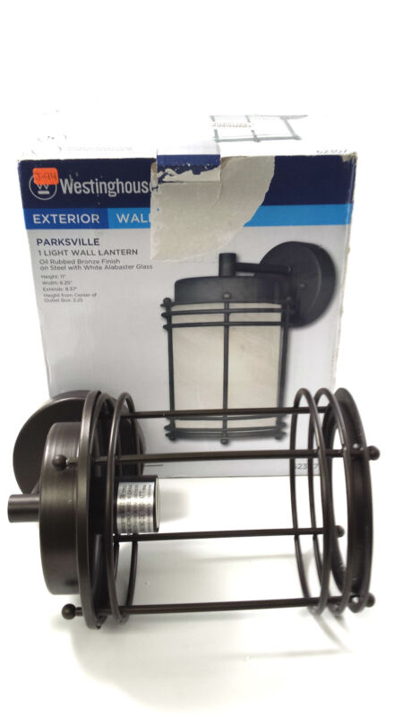 1LGT BRZ Wall Lantern,No 62307,  Westinghouse Lighting Corp  J-94