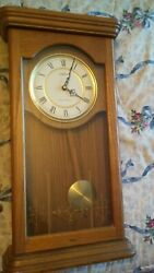 Seth Thomas Westminster Whittington Wooden Clock 23 x 12 x 4.5 - excellent
