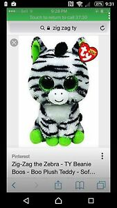 Looking for the zig zag beanie boo