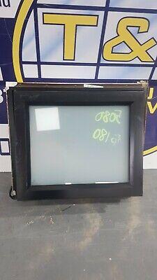 Aluminium Awning Window 550H x 650W (Item 5080/6) Black