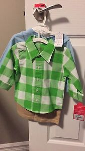 Brand new Carters baby boy 3 piece outfit