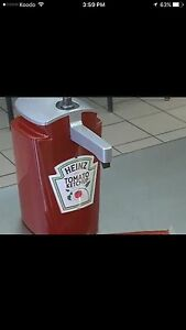 ***Large Heinz Ketchup Dispenser***