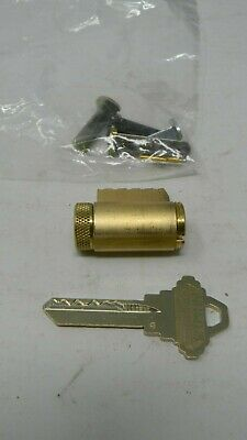 Schlage Primus Level 1 Knoblever Cylinder- Dull Brass 606- New High Security