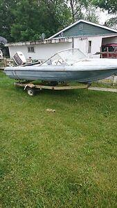 Roller ---Boat trailer-- comes with free boat