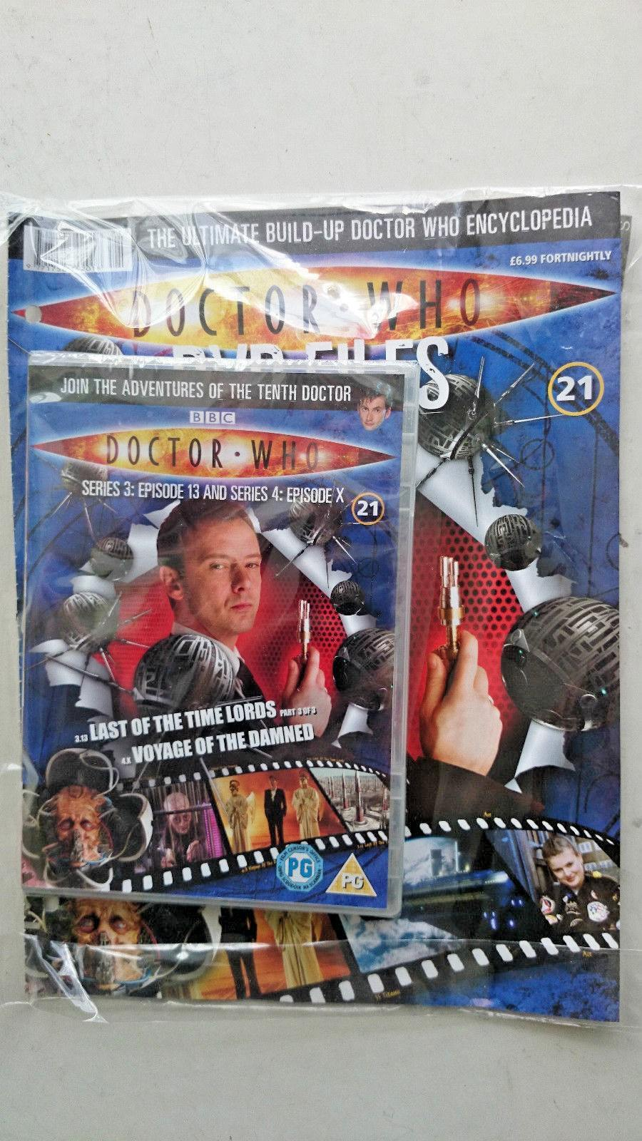 Doctor Who Series 3 Episodes 13 and X  SEALED With Magazine