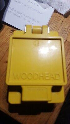 Woodhead 65w47 Watertite Receptacle For Fd Box 3p 3w 15a 125v-ac
