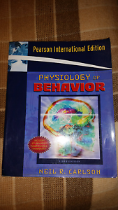 Physiology of Behavior 9th edition Haberfield Ashfield Area Preview