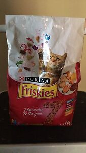 Unopened Friskies cat food for free :)
