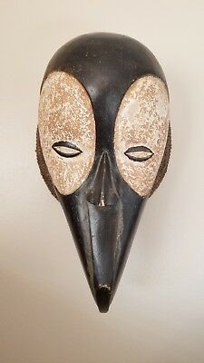 Vintage Antique African Tribal Ceremonial Mask from Cameroon Ba Mileke for sale  Shipping to Canada