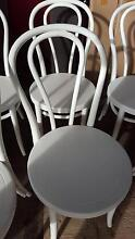 Bentwood chairs x 7 in white set. Hovea Mundaring Area Preview