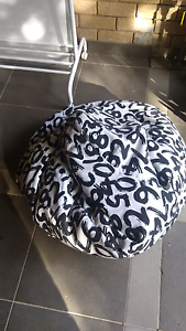 Bean bag black and white pattern Concord Canada Bay Area Preview