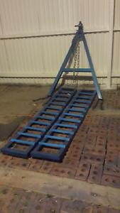 A frame plus 2 X HD ramps. Dalby Dalby Area Preview